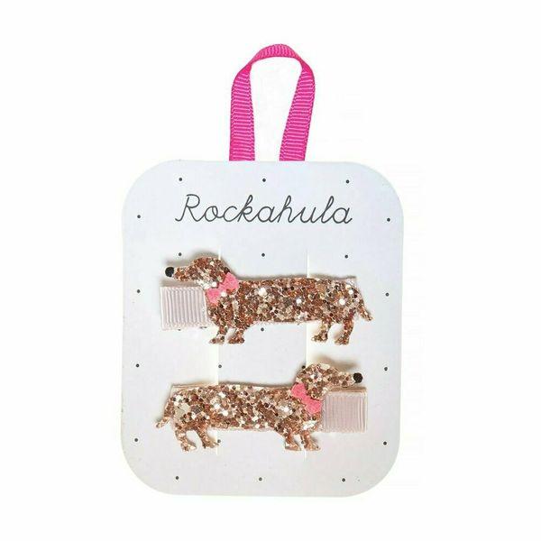 Barrettes Chien scintillant x2 Rockahula Kids accessoire enfant beauté
