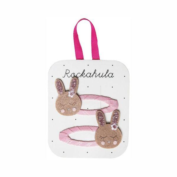 Barrettes Lapins scintillants Rockahula Kids accessoire beauté pour enfant