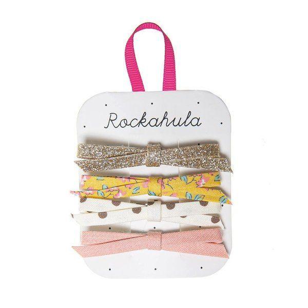Barrettes Nœuds Blossom Rockahula Kids accessoire beauté pour enfant
