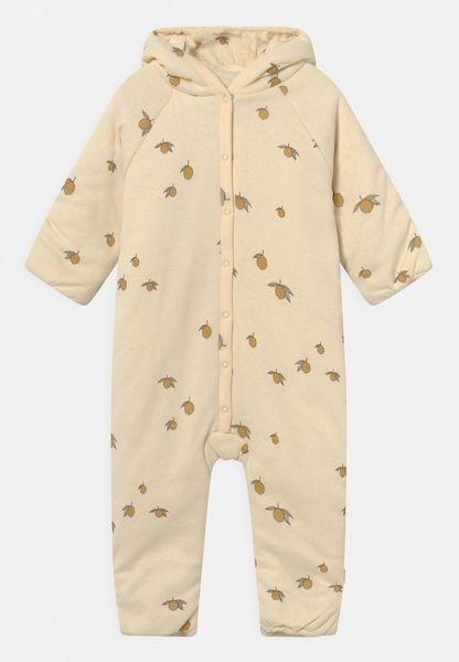 Combinaison avec capuche New Born en coton Bio Lemon 6/9 mois Konges Sløjd accessoire enfant tendance
