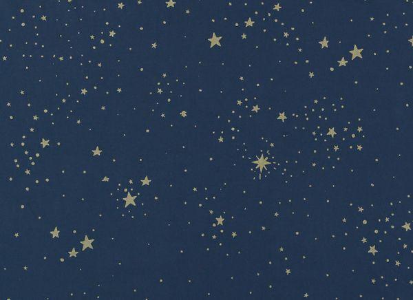 Petit coussin Laurel - Gold Stella Night Blue - Nobodinoz