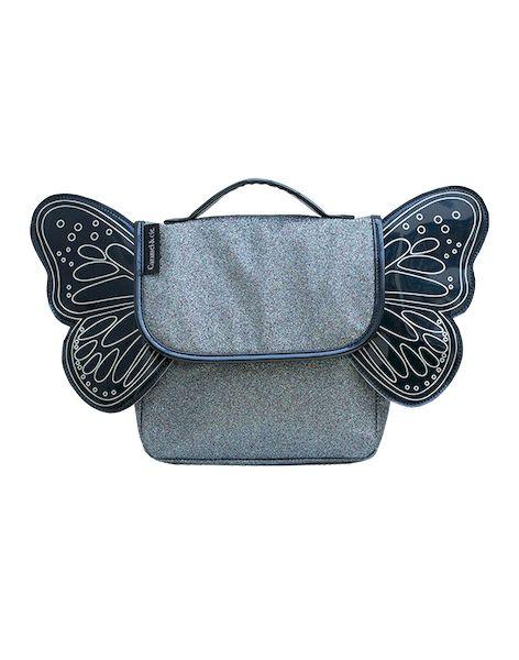 Sac Papillon Paillettes Bleu Nuit