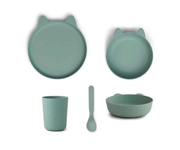 Set de vaisselle Paul - Rabbit Peppermint - Liewood