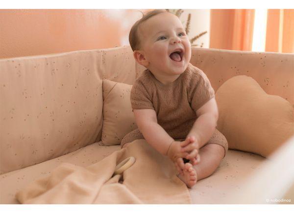 Tour de Lit Nest Willow Dune Nobodinoz cadeau de naissance enfant bébé confort tendance