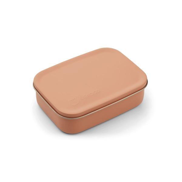 Boite à goûter Jimmy Cat Tuscany Rose Liewood accessoire enfant lunchbox