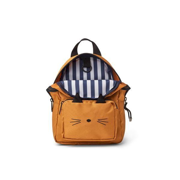 Mini sac à dos Saxo Cat Mustard Liewood accessoire enfant tendance confort