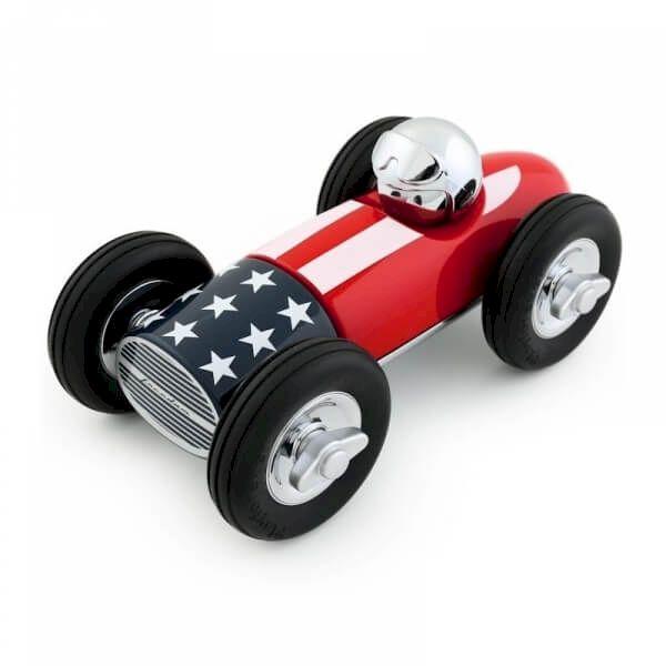 Voiture Bonnie Drapeau américain Playforever voiture miniature idée cadeau