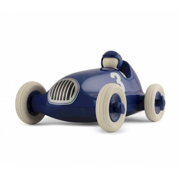 Voiture Bruno Bleu métallisé Playforever voiture miniature idée cadeau