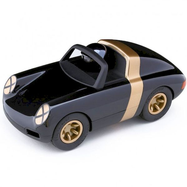Voiture Luft Crow Noir Or Playforever voiture miniature idée cadeau