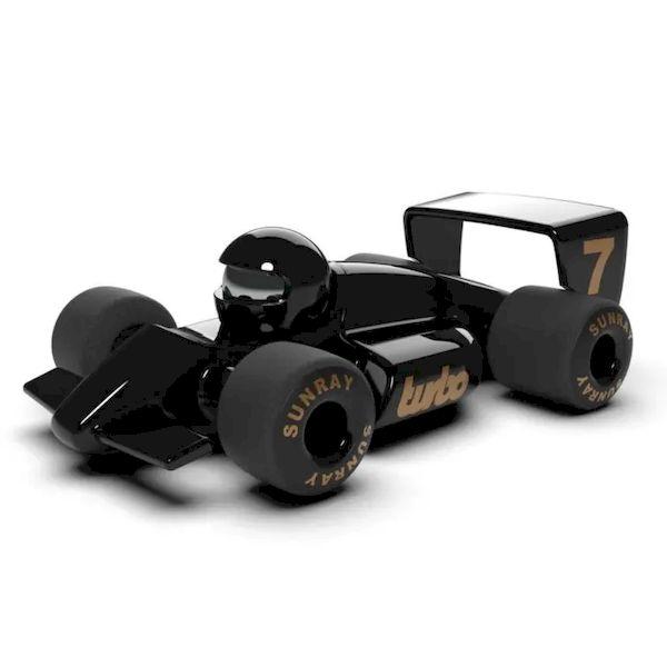 Voiture Verve Turbo Jet Noire 16,5cm Playforever voiture miniature idée cadeau
