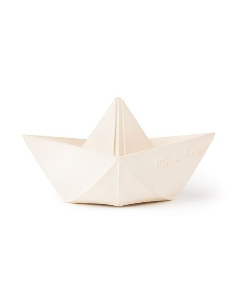 jouet de dentition bateau origami oli & carol