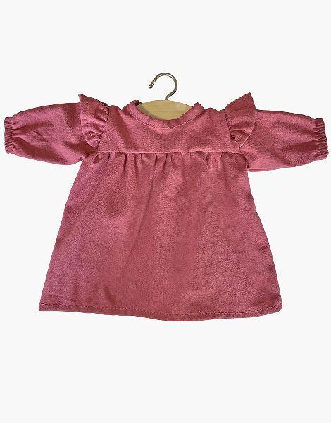 Robe Mélodie en coton Framboise - Minikane tenue poupée minikane
