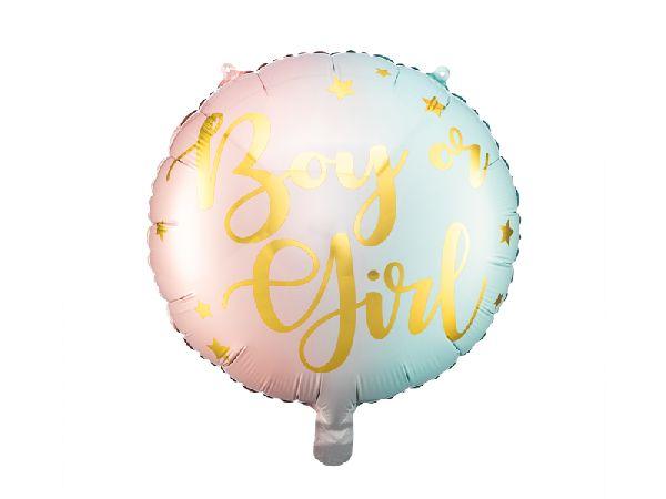 Ballon boy or girl