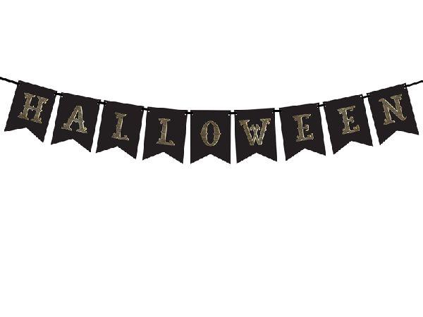 Guirlande halloween noir 1,75m
