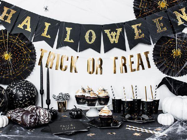 Guirlande Halloween noir 1,75