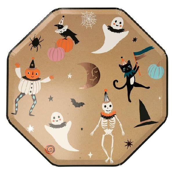 Assiettes Halloween Vintage meri meri