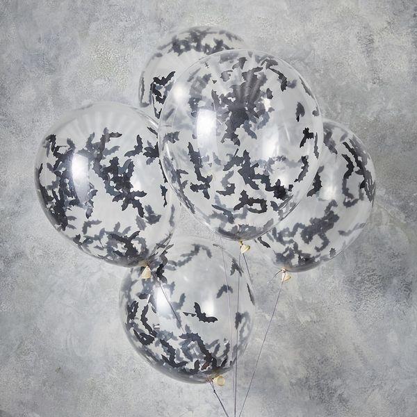 Ballon confettis chauve souris