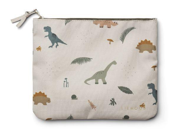 Pochette Dino dark sandy