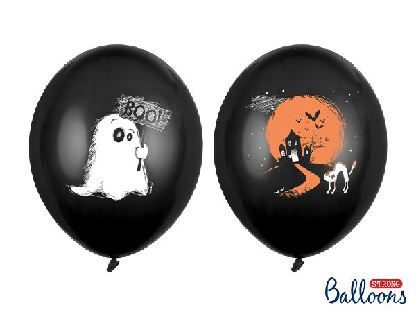 Lot 6 ballons ghost