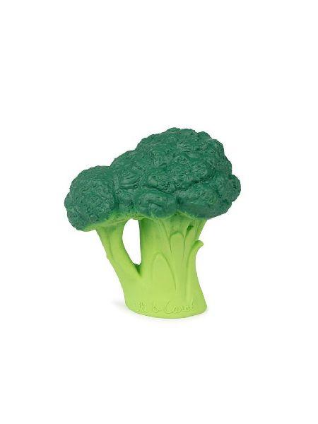 Brucy le broccoli oli & carol jouet de dentition