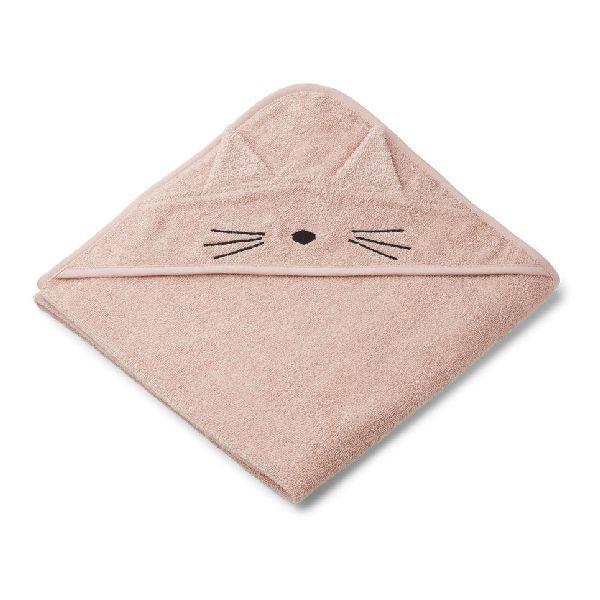 Cape de bain cat rose