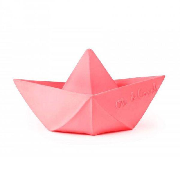 jouet de bain bateau rose oli & carol