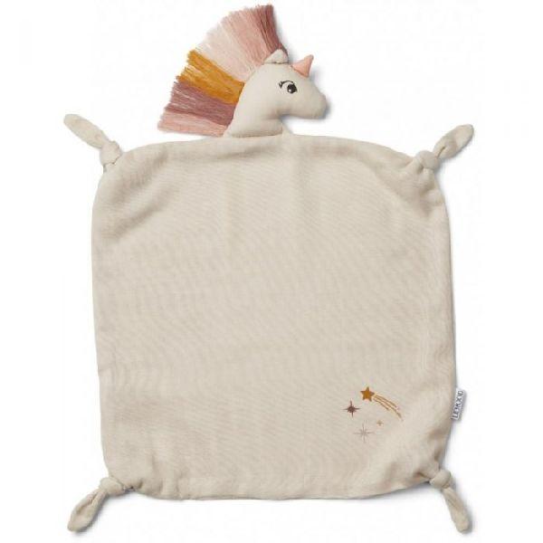 Doudou lange agnete unicorn sandy