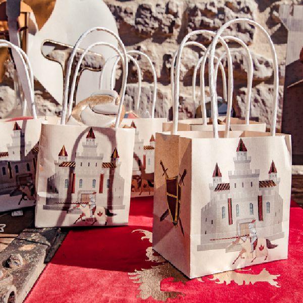 sacs cadeaux chevalier