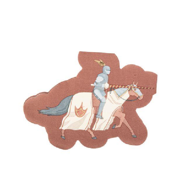 serviettes chevaliers