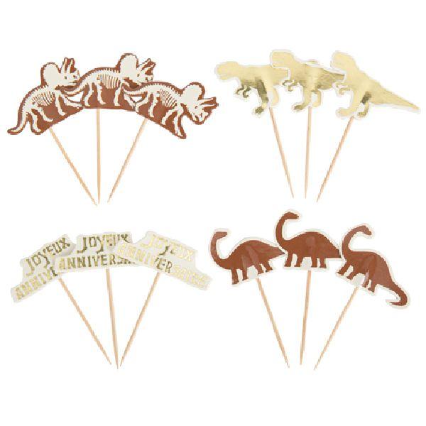pics dinosaure camel ivoire et or