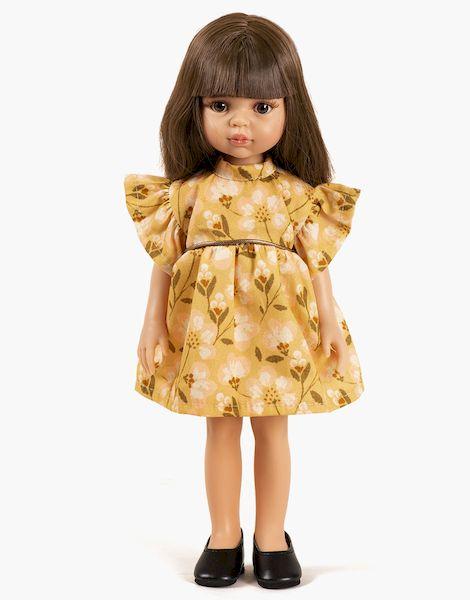 Carol et sa robe Daisy courte Astronomia - Las amigas poupée minikane
