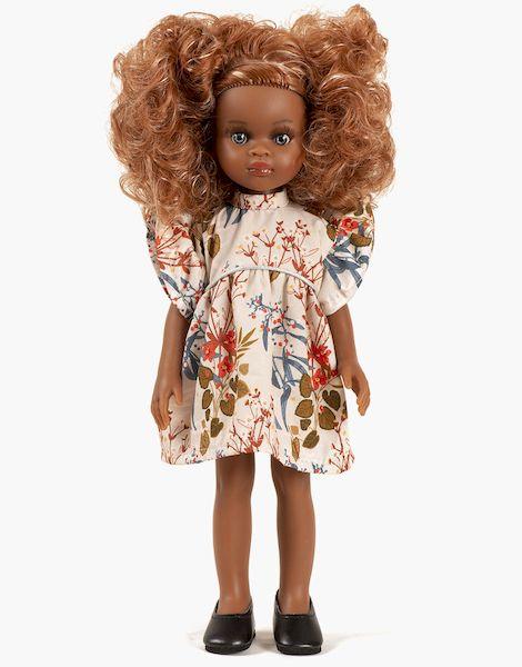 Mélissa et sa robe Daisy courte Adonis - Las amigas poupée minikane