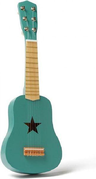 Guitare verte en bois kid's concept