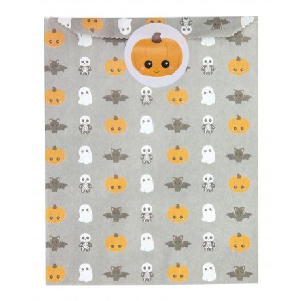 sachets papier halloween